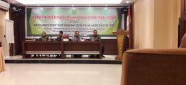 Rakor Mahkamah Syar'iyah Aceh Dengan MS Kab/Kota Se Aceh Tahun 2020