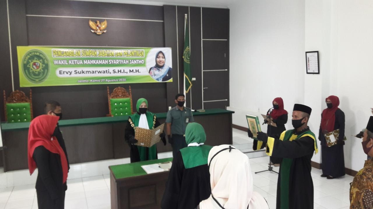 Setelah Sekian Lama Kosong, Alhamdulilah Ruang Wakil Ketua MS Janto Terisi Kembali