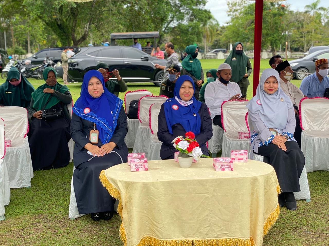 Pimpinan Mahkamah Syariah Jantho, Hadiri Eksekusi Uqubat Cambuk Pasangan Jarimah Zina