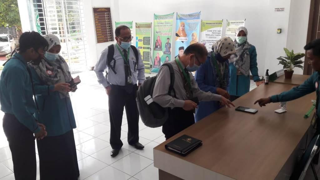 Hakim Tinggi Pengawasan Daerah Mahkamah Syar'iyah Aceh, Kunjungi MS Jantho, ada apa?