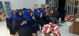 Ketua Komandoi Aparatur Mahkamah Syar'iyah Jantho mengikuti Pembukaan Training Of Trainer (TOT) secara live streaming di Front lobby Gedung Mahkamah Syar'iyah Jantho.